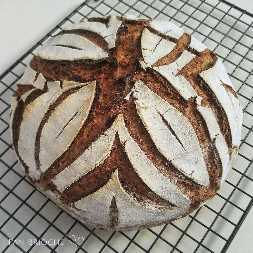 Pane di segale con lievito naturale
