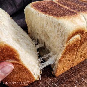 Pane di Hokkaido con lievito madre