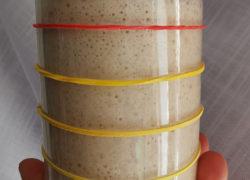 Il volume del lievito madre liquido: come farlo triplicare o più